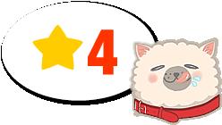 ★星4つのドッグフード