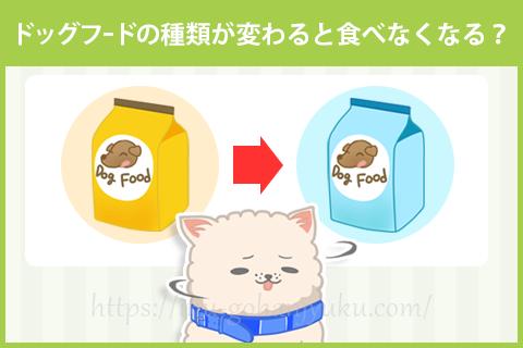 新しいドッグフードを食べない場合の対処法