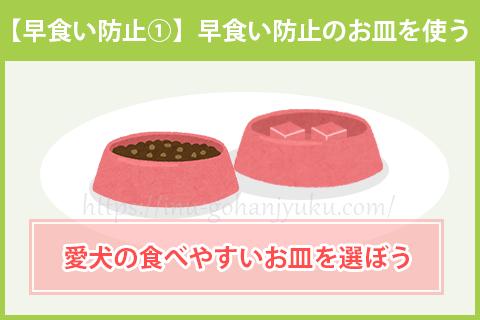【早食い防止①】早食い防止のお皿を使う