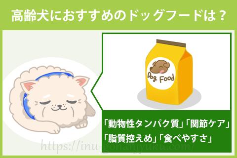 高齢犬におすすめのドッグフードを選ぶポイントは?