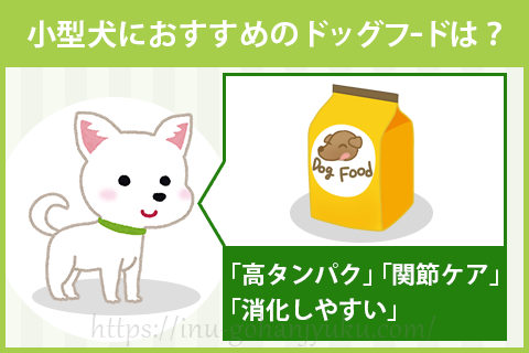 小型犬(チワワ・トイプードルなど)におすすめのドッグフードは?