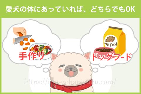 手作りごはんとドッグフード、どっちが良いの?