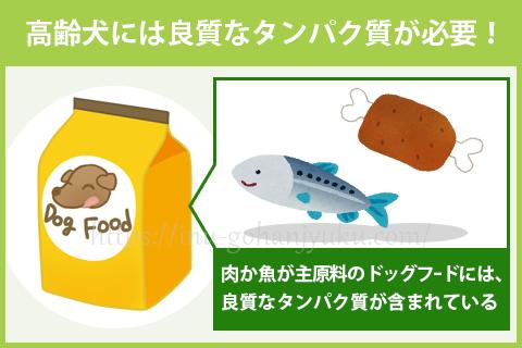 【選び方①】肉や魚から「良質なタンパク質」を補う!