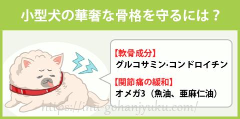 【ポイント③】関節を強化する成分配合