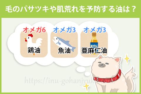 【ポイント③】オメガ6とオメガで皮膚トラブルを防ぐ!