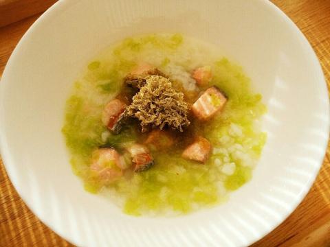 鮭と白菜のおじや