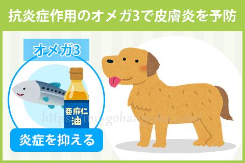 【ポイント2】魚油・亜麻仁でデリケートな皮膚を守る