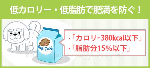 【ポイント4】低脂肪・低カロリーで肥満を予防!